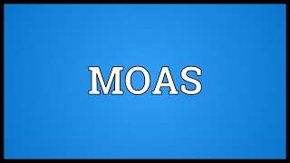 MOAS Meaning