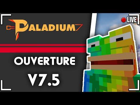 🔴 LIVE PALADIUM V7.5 ( minage, nouveautés... ) #Paladium #live🔴