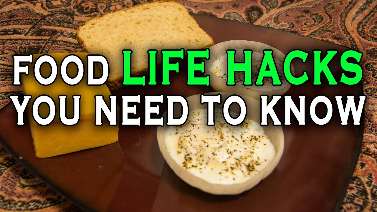 599e6d7bd740 10 Incredible Food Life Hacks You Need To Know! - YouTube