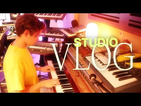Working in the studio!!