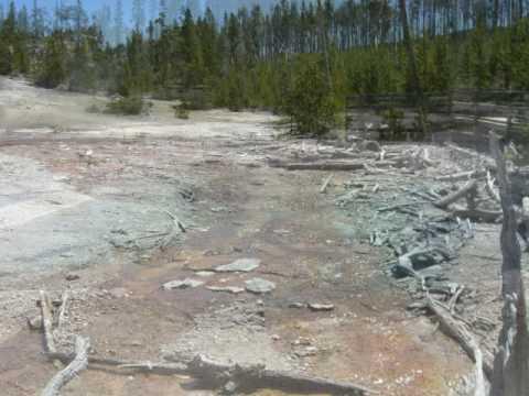 Yellowstone Park. Thru Irish Eyes.