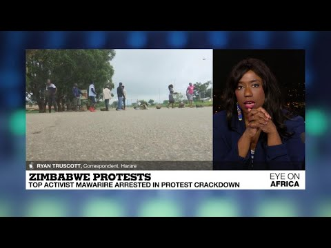 Zimbabwe protests: more than 600 people arrested