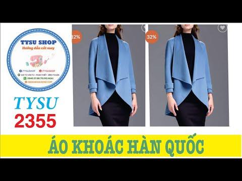 Áo Khoác Dạ Nữ Hàn Quốc Sang Trọng Cắt May Siêu Dễ - 2355