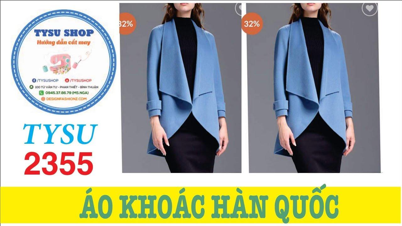 Áo Khoác Dạ Nữ Hàn Quốc Sang Trọng Cắt May Siêu Dễ – 2355