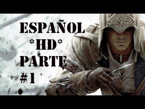 Assassin's Creed 3 | Parte 1 Español * HD * | GUIA Walkthrough/Gameplay (XBOX 360/PS3/PC)