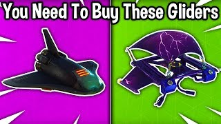10 GLIDERS YOU NEED TO BUY in Fortnite! (these are the best gliders)