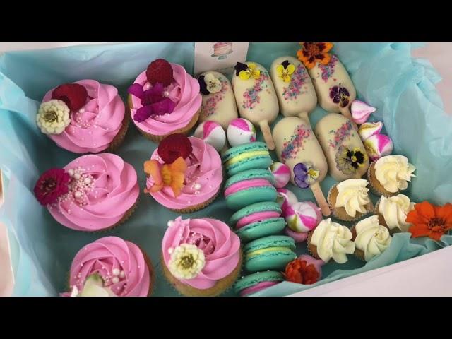 Cherry Morello's Cake Box