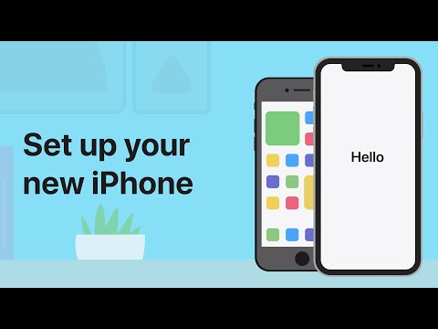 How to set up a new iPhone — Apple Support