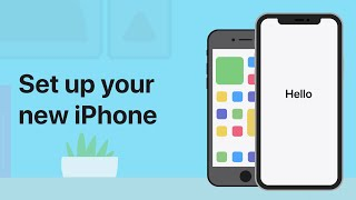 How to set uṗ a new iPhone — Apple Support