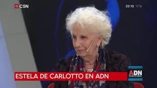 Tomás Méndez - ADN 2/09/2018 - Estela De Carlotto sobre Lanata, Leuco, Majul y Morales Solá.
