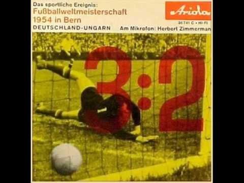 Herbert Zimmermann - Fußballweltmeisterschaft 1954 Finale