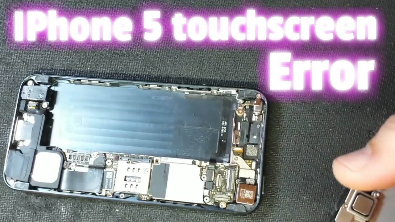 IPhone 1 Touchscreen Error  tidak bisa disentuh