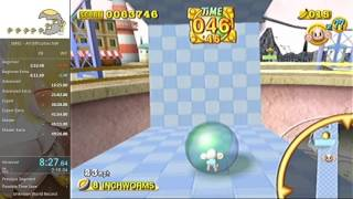 [World Record] Super Monkey Ball 2 All Difficulties No-Warp Speedrun [45:48]