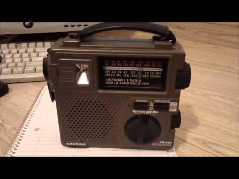 emergency radio grundig fr 200 youtube rh youtube com Grundig FR350 Grundig FR200 Review