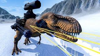 KHỦNG LONG ĐEO VŨ KHÍ VS CHIM CÁNH CỤT! | Beast Battle Simulator