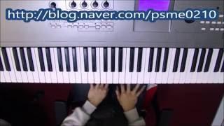 [교회 피아노 반주법] 16 beat 리듬 반주법 -  CCM 반주법 강의 중 일부