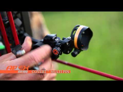Apex Gear Covert™ Multi Pin Bow Sight