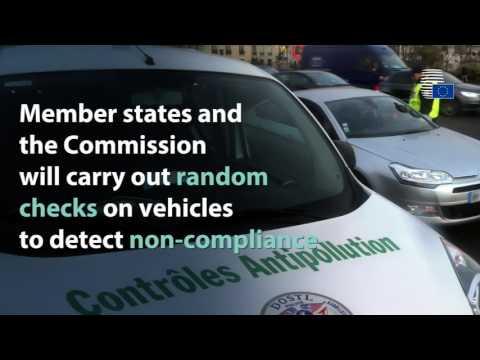 Car emissions tests