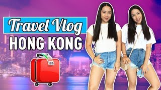 Travel Vlog: Hong Kong! | The Caleon Twins