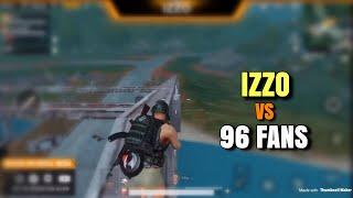 Izzo vs Fans | PUBG Mobile | Custom Room Gameplay | 26 Kills Win!