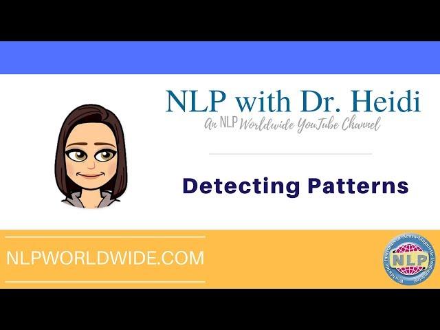 Detecting Patterns