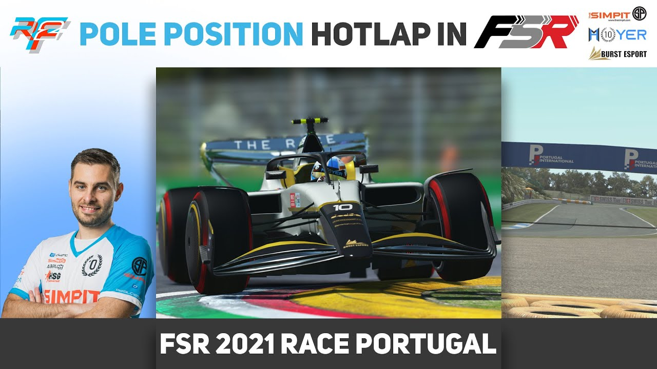 Formula Sim Racing Michi Hoyer stunning P1 Lap