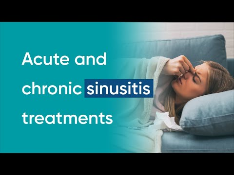 Sinusitis treatment (plus home remedies for sinusitis)