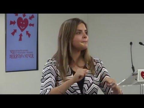 Patricia Sandoval testimonia su experiencia con el aborto (version reducida)