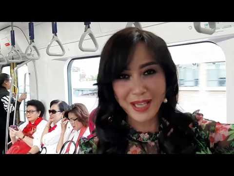 Detik-detik Jokowi Resmikan MRT. Mengejutkan Reaksi Warga