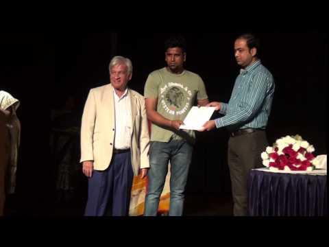 Indore artists receiving awards - 10