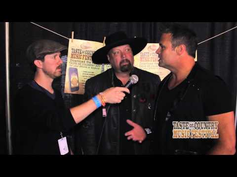 Montgomery Gentry at the Taste of Country Music Festival - Interview