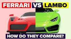 Ferrari vs Lamborghini - How Do They Compare and Which Is Better? (Automotive / Car Comparison)