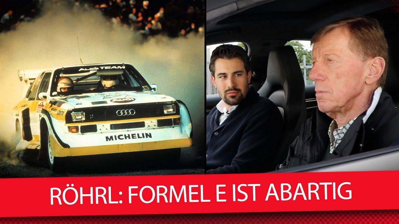 Rallye Legende Walter Rohrl Formel E Ist Abartig Interview Youtube