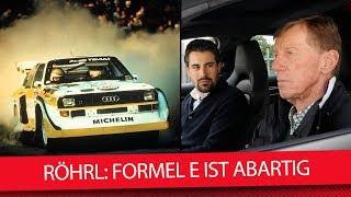 Rallye-Legende Walter Röhrl: Formel E ist abartig (Interview) thumbnail