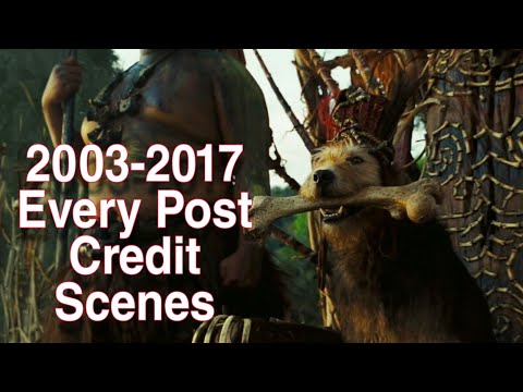 Pirates Of The Caribbean All Post Credit Scenes 2003-2017