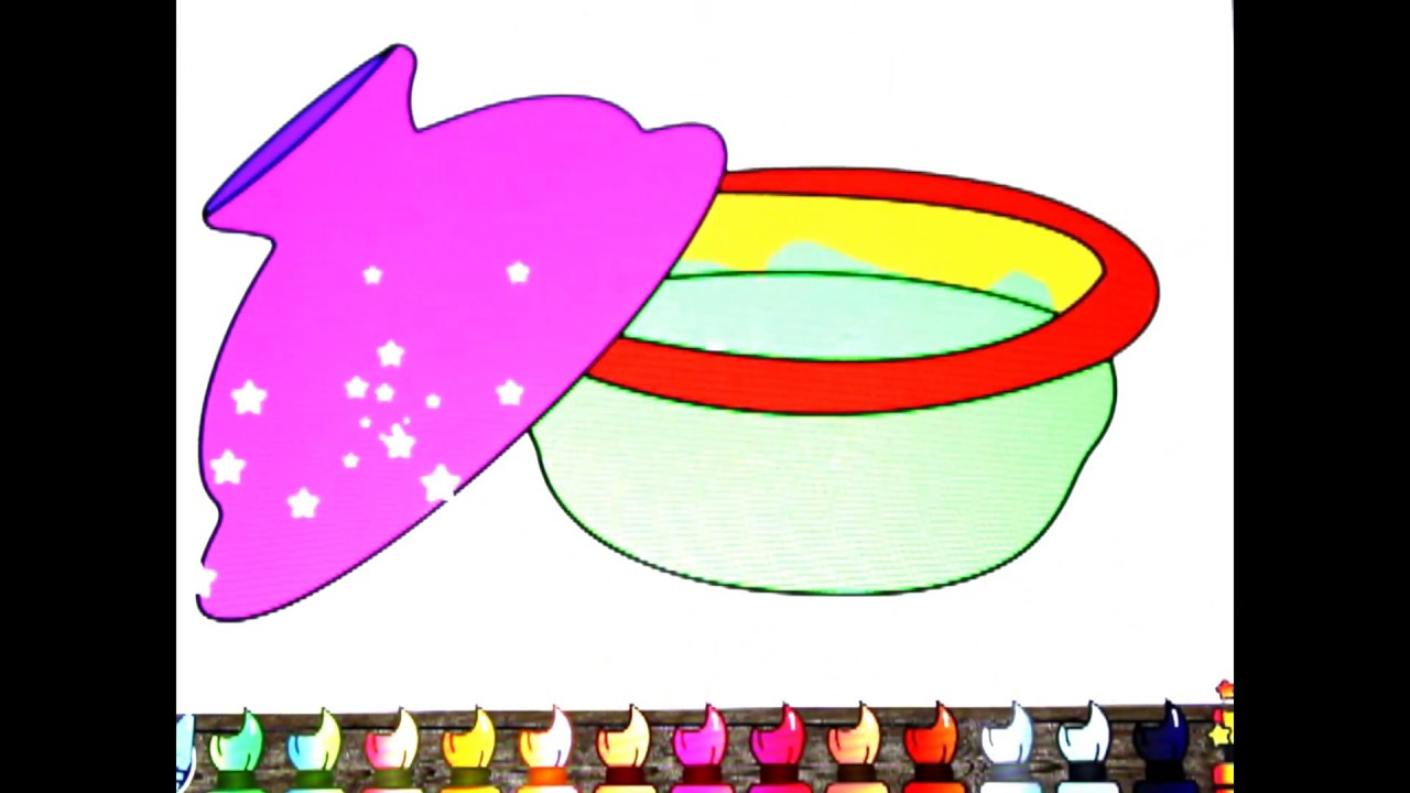 Cooking Pot Coloring Page - Ultra Coloring Pages | 720x1280