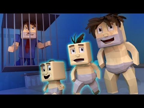 Thumbnail: Minecraft | Who's Your Daddy? How to Escape a Baby Trap! (Dad is a Baby)
