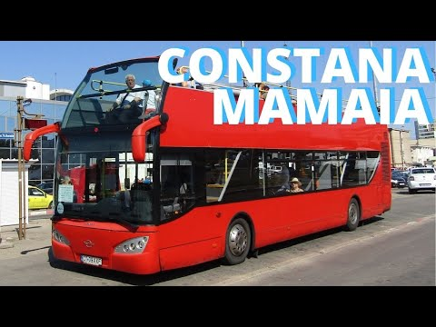 Constanta City Tour 2018 - Best Bus Travel Vacation Guide Video