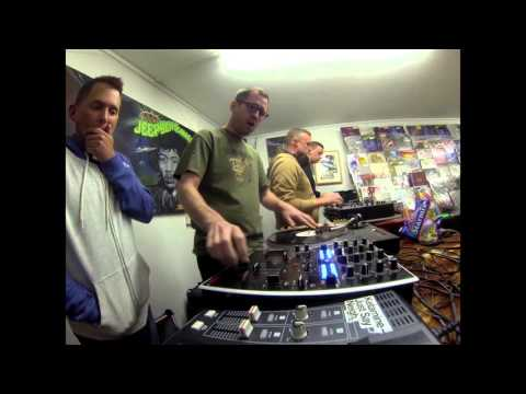 SCRATCH JAM @ PLANET ROCK RECORDS Manchester 2015