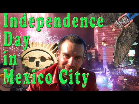 Independence Day in Mexico City
