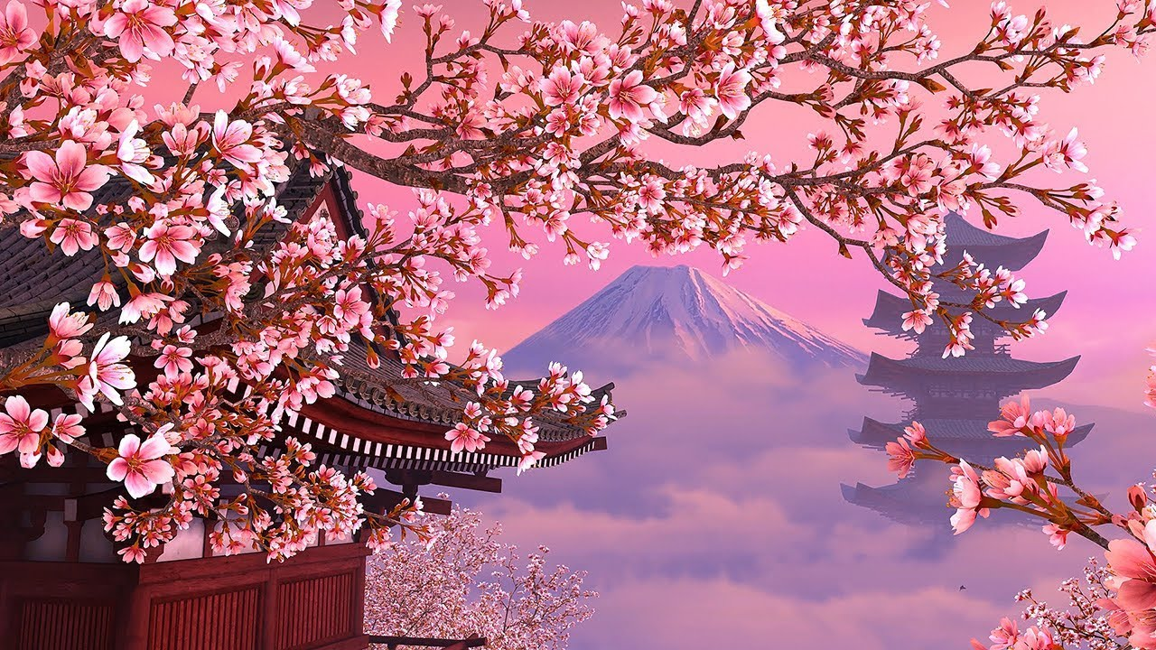 Blooming Sakura 3d Screensaver Live Wallpaper Hd Youtube