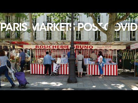 Paris' Open Air Markets After Lockdown - Bastille Market and Fresh Salsa