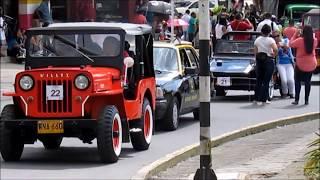 Desfile de autos Popayán 2018