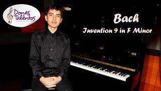 Bach Invention 9 in F Minor - Miguel Angel Albarracin