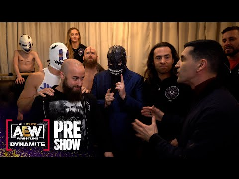 Dark Order join Alex & Dasha on the AEW Dynamite Pre Show and Five finds the email