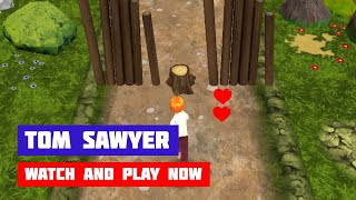 Tom Sawyer: The Great Obstacle Course · Game · Gameplay