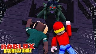 THE HAUNTED OBBY - NOW THAT WAS SCARY - Roblox gaming adventures