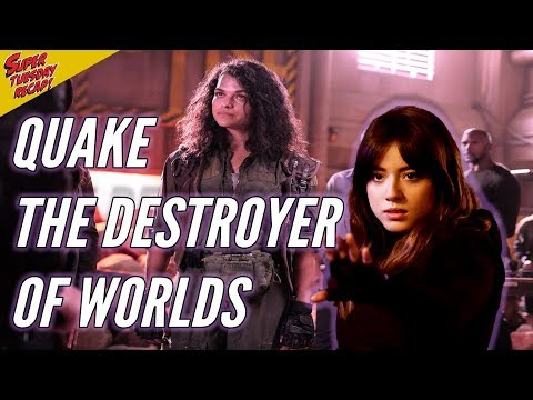 Agents of Shield Review - Quake The Destroyer of Worlds