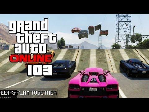 GTA ONLINE TOGETHER #103: MEGA-JUMPS mit Höchstgeschwindigkeit [LET'S PLAY GTA V]