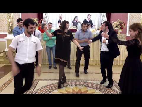 Патимат Кагирова и Кемран Мурадов На Даргинской свадьбе свадьба в Дагестане чеченские песни 2016